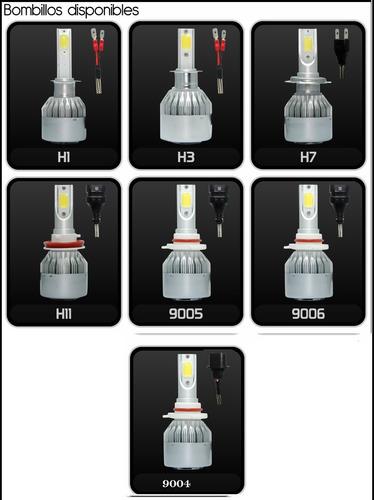 luces luz led carros motos h3 h11 880 somos tienda