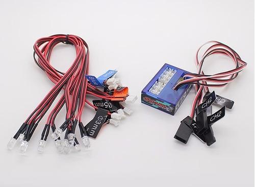 luces luz led smart 2 turnigy 23554 carro radio control r/c