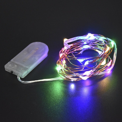 luces micro led alambre x20 led extension luz 2 mts ml20
