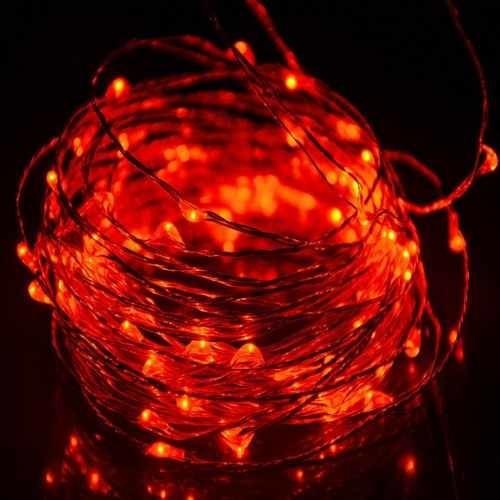 luces micro led hadas pilas 2 metros colores pilas incluidas