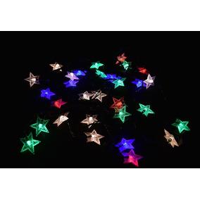 06ef7c92b4c0b Serie Luces Navidad Estrellas en Mercado Libre México