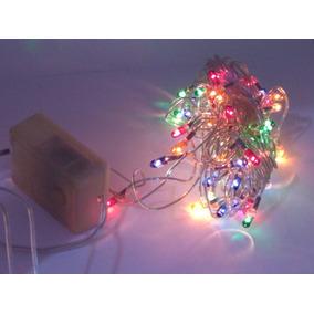 8008ebf9b10 Luces Navideñas Arroz X 100 Violeta 8 Juego Luces Navidad - Adornos ...