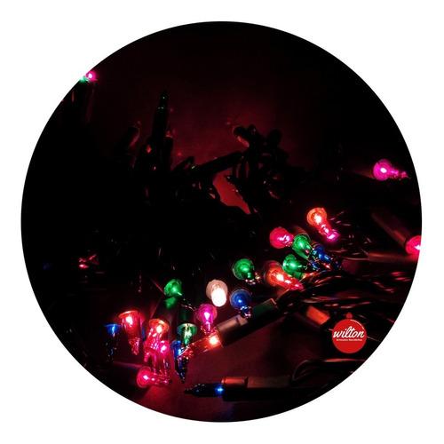 luces navidad guirnalda multicolor decoración x 100 - wilton