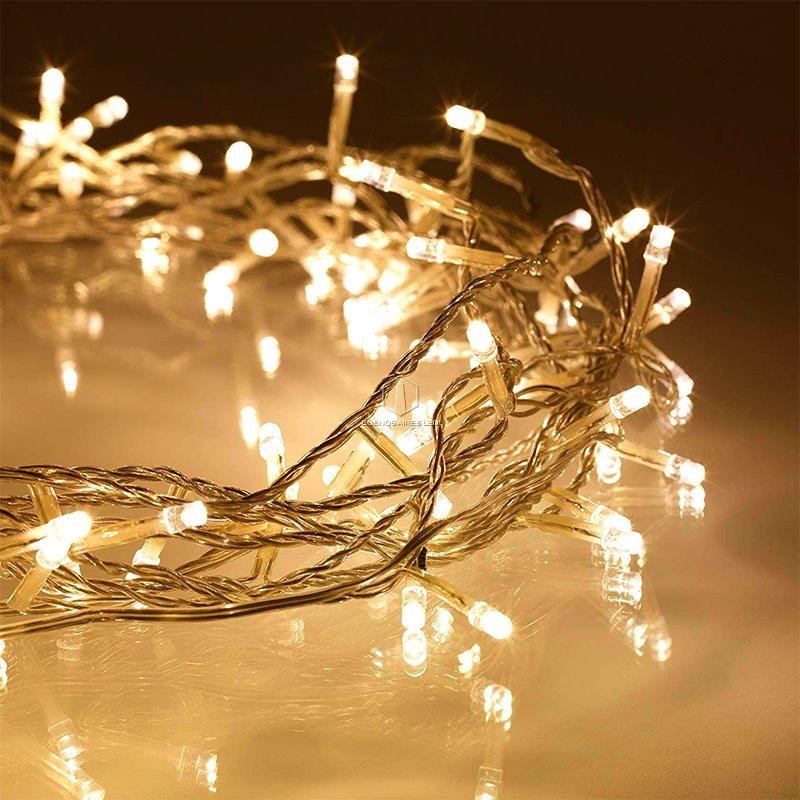 327cf14ed05 luces navidad led 20 lamparas blanco calido 2 metros pilas. Cargando zoom.