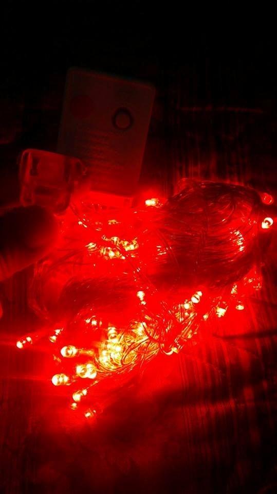 96303500f5e luces navidad rojo extension 10m 100 led interconectable. Cargando zoom.