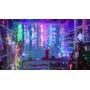 Luces Led Lluvia Navidad 576 Bombillos 6 Metros Por 2
