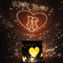 Sweetheart Romántica Belleza Master Led Estrella Noche Colo