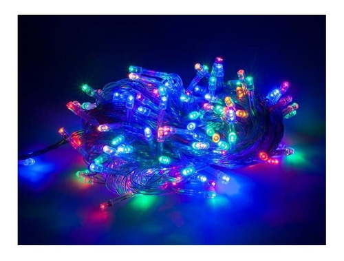 luces navideñas led x100 grano arroz guirnalda decoracion