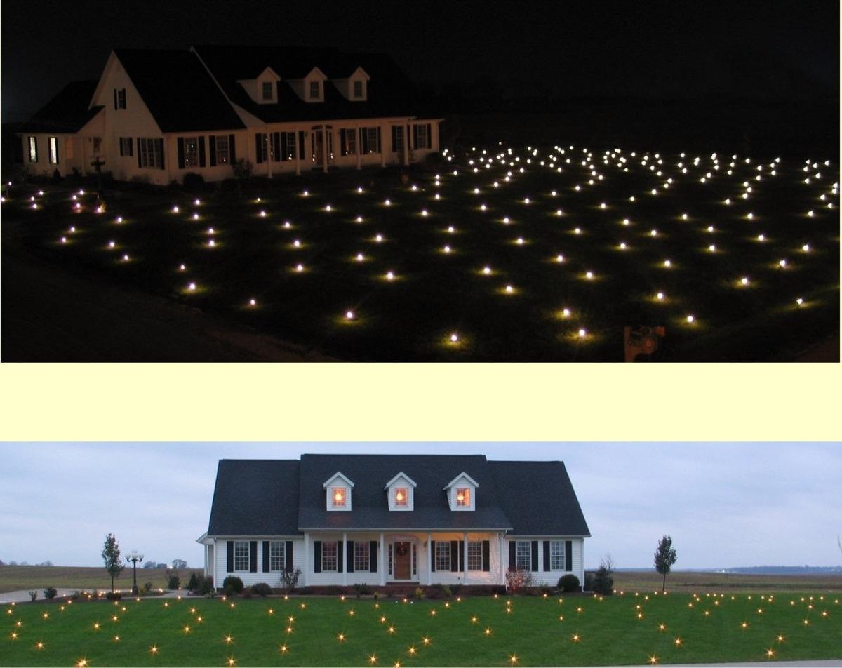 Luces para jardin navide as pasto sobrepedido 2 for Luces empotradas jardin