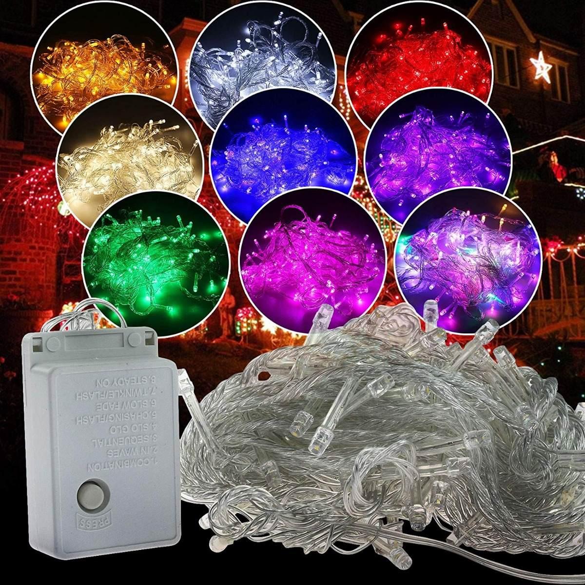 9969944e46d 200 luces led moradas para arbol de navidad autolizer. Cargando zoom... luces  para navidad. Cargando zoom.