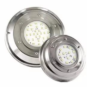 luces para pileta led color o blanco acero inox piscinas