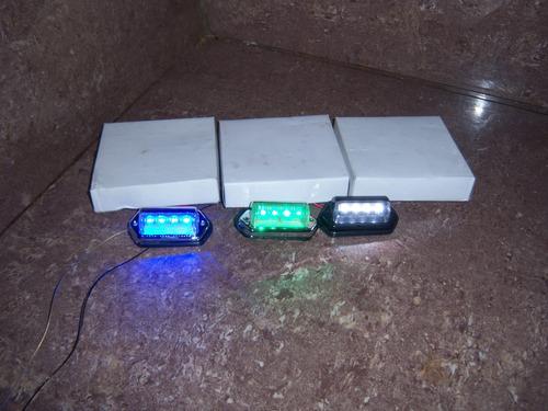 luces para placas universales led