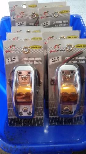 luces para plataforma camiones amarilla led