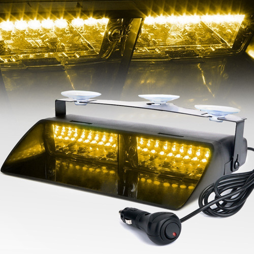 luces para vehículo de emergencia códigos 16 led tipo viper