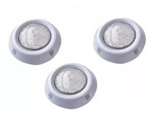 luces pileta led blanco vulcano b-66