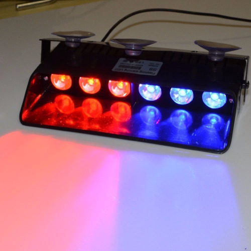 luces policiacas wowtou 16 changing modes red and blue
