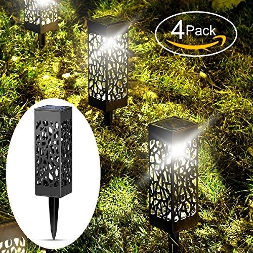 Luces Solares Jardin Al Aire Libre Iluminacion De Ruta De