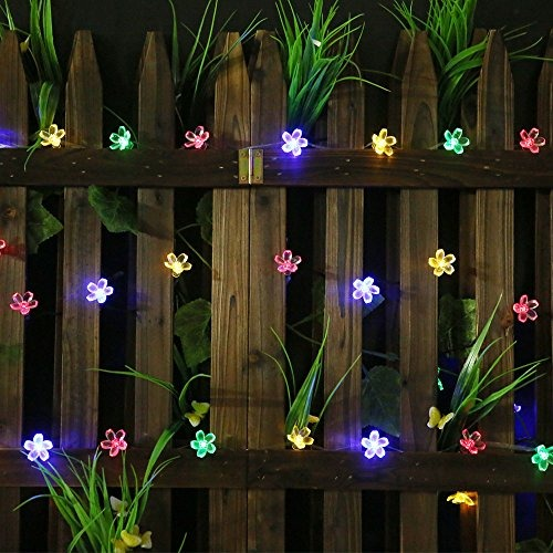 Luces solares para jard n all star 50 luces led 923 - Led para jardin ...