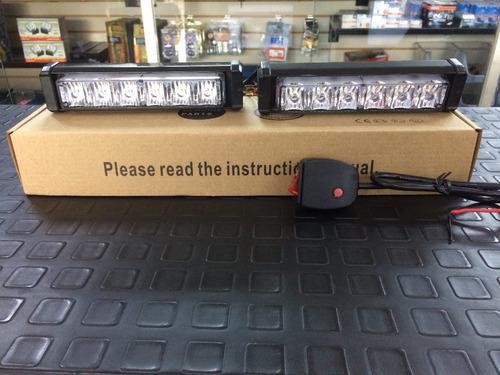 luces strobo policial 6 led  federal signal somos tienda