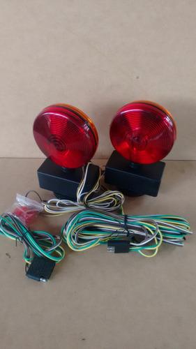 luces traseras (stop y cruce) para remolques, base magnética