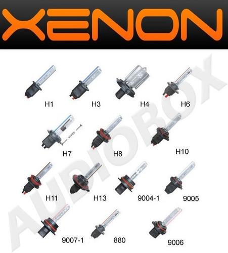 luces xenon 55 watts hid balastra slim corrient alterna real
