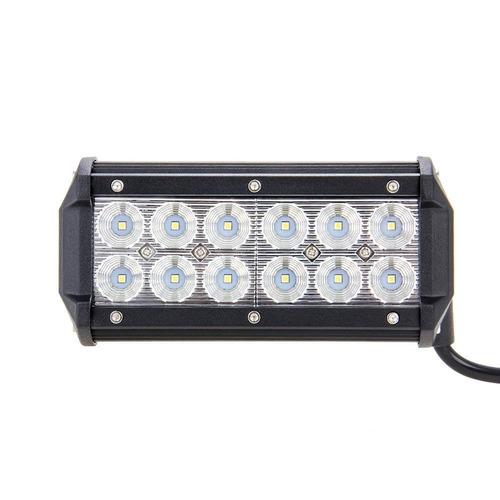 luces,barra, faros led 7 pulgadas expansion/profundidad 36w