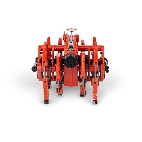 lucha hexbug battle ground tarantula con la luz, el color a