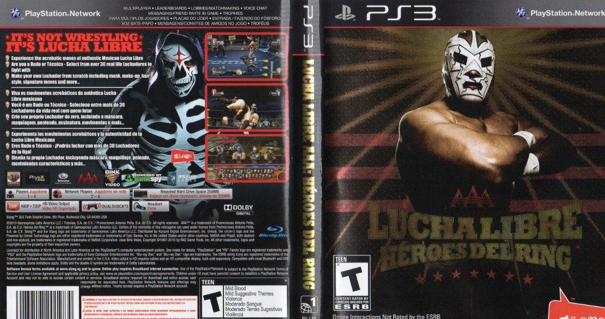Lucha Libre Heroes Del Ring Ps3 Fisico Original 95000 En