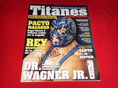 lucha libre - titanes del ring # 1, ejemplar de coleccion.