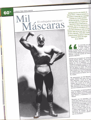 lucha libre, vol. 2, los luchadores más famosos ed. mina