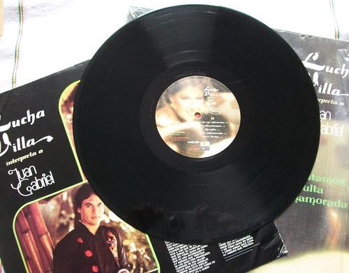 lucha villa interpreta a juan gabriel. disco l.p. ariola
