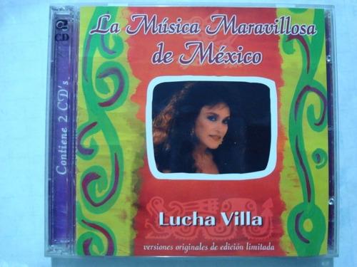 lucha villa -- la musica maravillosa de mexico - edicion lim