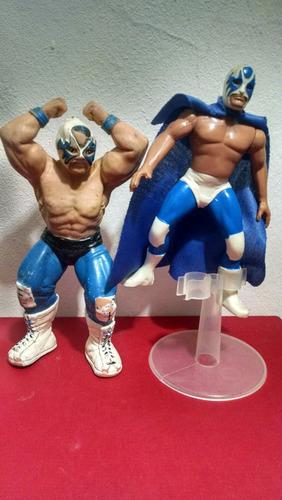 luchadores atlantis dos figuras