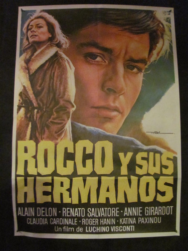 luchino visconti- rocco y sus hermanos - alain delon