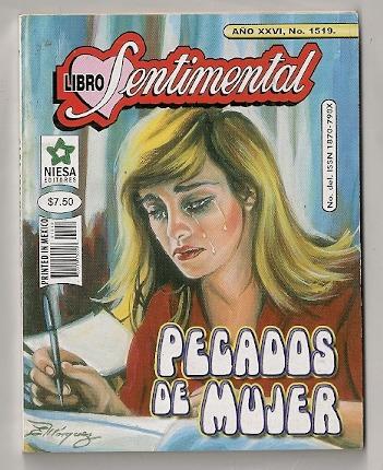 lucía méndez en portada de comic libro sentimental