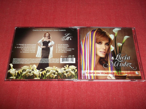 lucia mendez - homenaje a juan gabriel cd nac ed 2010 mdisk