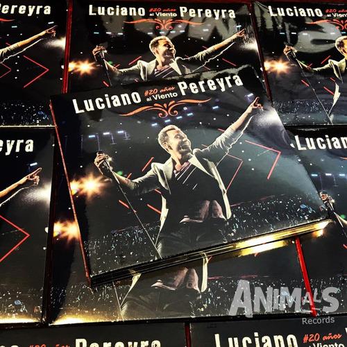 luciano pereyra 20 años al viento cd + dvd nuevo en stock