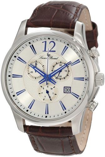 lucien piccard hombre 11567-02s adamello reloj de acero inox