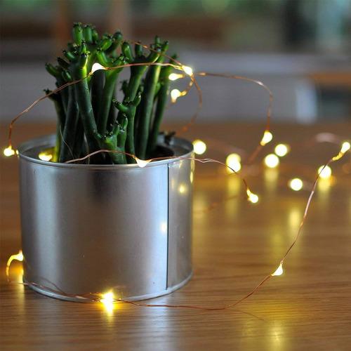 luciérnagas luces led - guirnaldas decorativas lva 10 metros