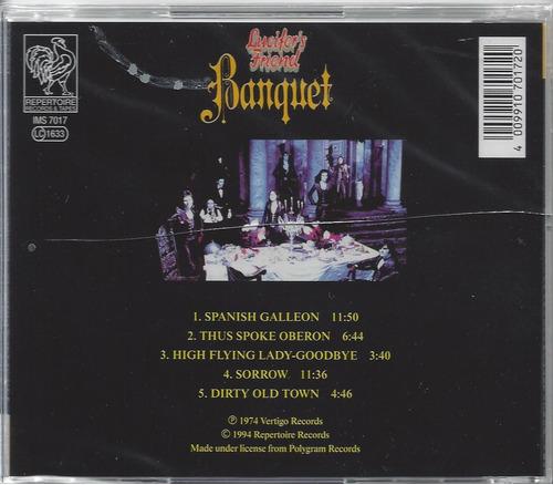 lucifer´s friend - banquet - original - lacrado - importado