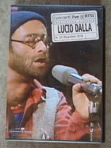 lucio dalla - show antológico gravado em 1978 - dvd