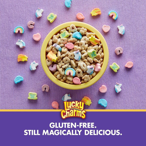 lucky charms unicorn marshmallow cereal (652gr , 2 pk.)