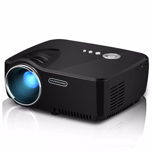 lucky clover 1080p hd mini portable movie projector