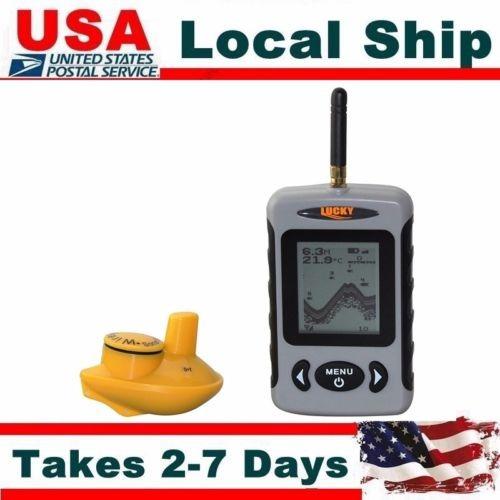 lucky ffw-718 buscador de peces sonar portátil inalámbrico p