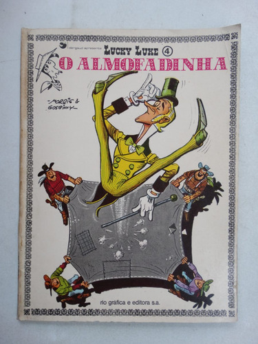 lucky luke nº 4! o almofadinha rge 1973!