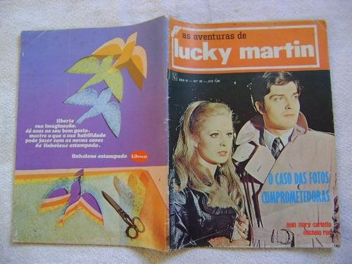 lucky martin no.39 ano 1972  ed vecchi leia anúncio!