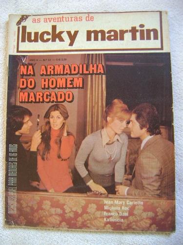 lucky martin no.54 ano 1973  ed vecchi ótima! leia anúncio!