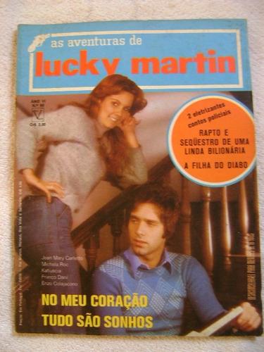 lucky martin no.65 ano 1974  ed vecchi ótima! leia anúncio!