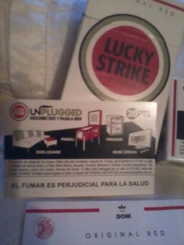 lucky strike - box 20 - box 10 - soft pack - jun/jul. 2006 -