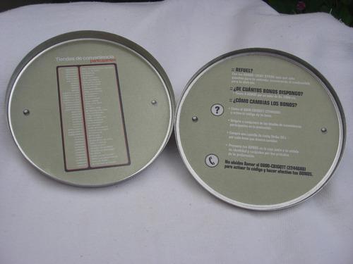 lucky strike. lata guarda cd y sus 6 bonos. para colección!